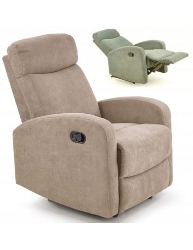 Fotel Rozkładany OSLO Beżowy